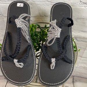 Plaka Strappy Leisure Woven Sandals
